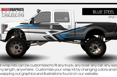 Truck Wraps Kits | Vehicle Wraps | Wake Graphics