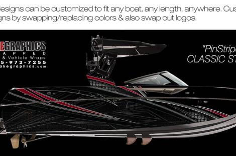 Boat Wraps   Marine Vinyl Graphics   Wake Graphics