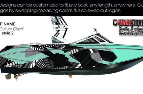 Boat Wraps | Marine Vinyl Graphics | Wake Graphics
