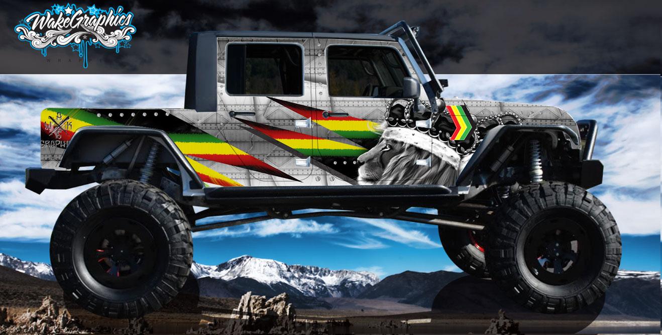 Jeep Wraps Vehicle Wrap Custom 4x4 Jeep Wraps