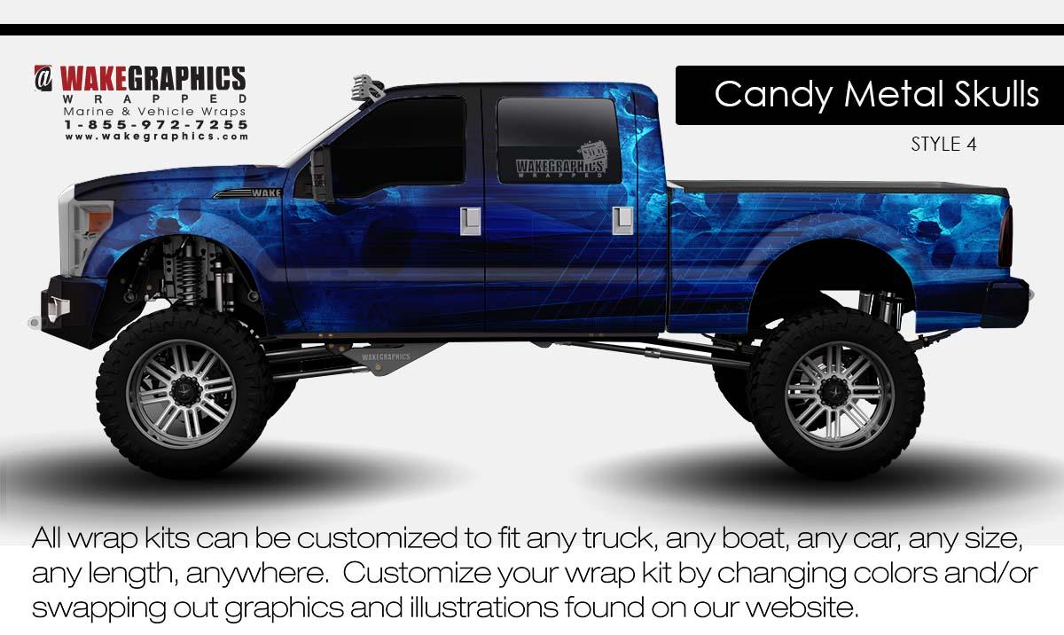 Truck Wraps Kits Vehicle Wraps Wake Graphics