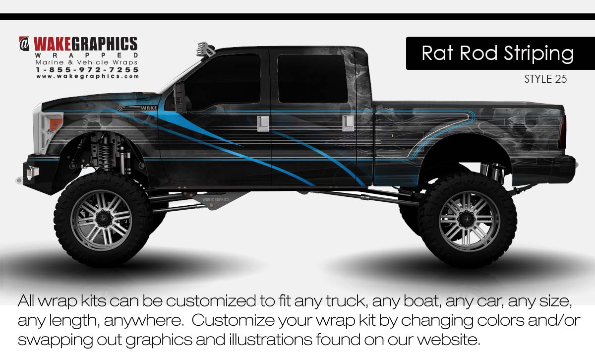 Truck Wraps Kits Vehicle Wraps Wake Graphics