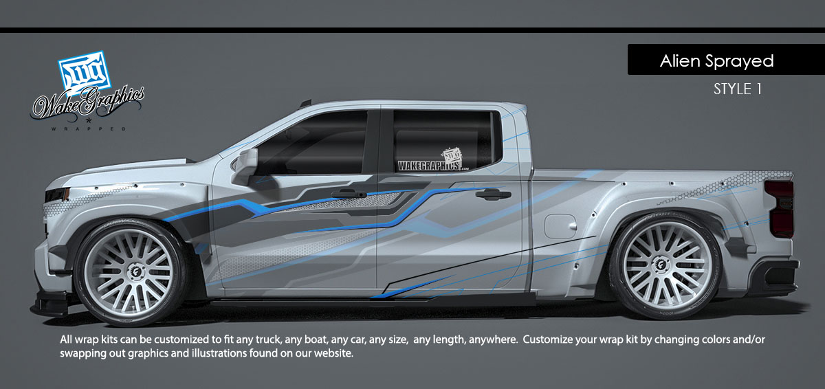 Customize My Truck >> Truck Wraps Kits Vehicle Wraps Wake Graphics