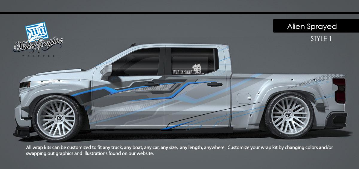Truck Wraps Kits | Vehicle Wraps | Wake Graphics