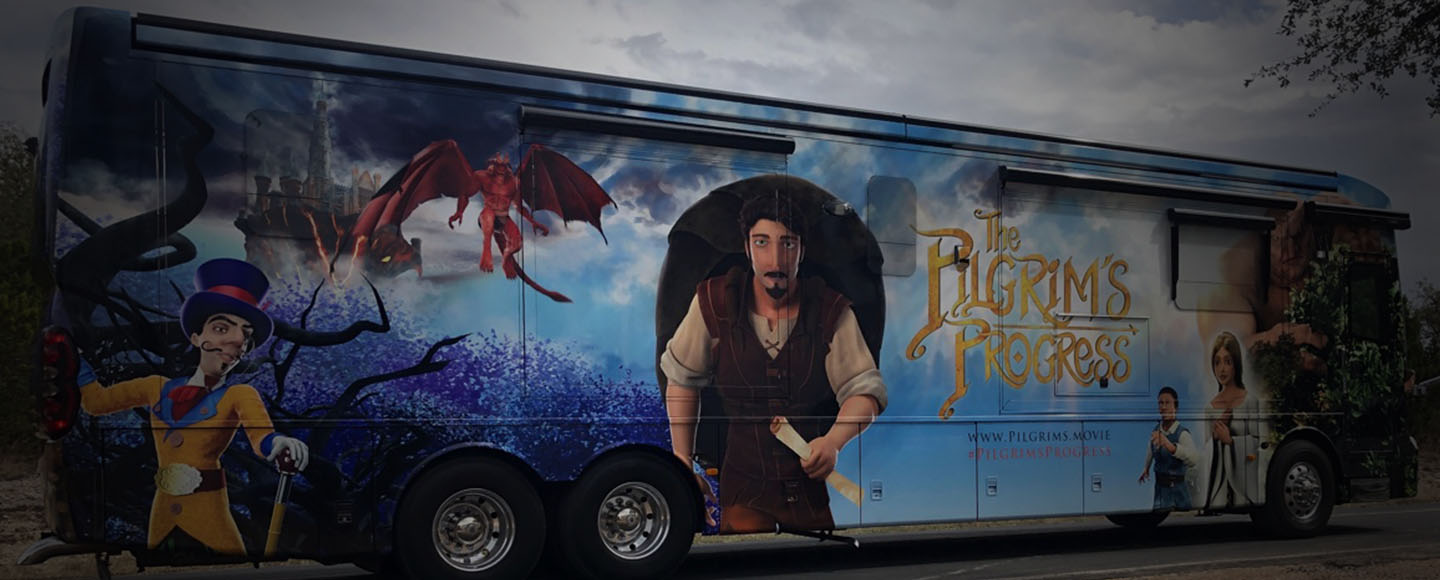 Company Graphics RV Wrap